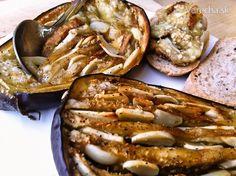 eggplant with garlic Eggplant, French Toast, Garlic, Breakfast, Food, Morning Coffee, Essen, Eggplants, Meals