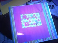 My Alphabet Binder~ which is going to be filled with resources related to teaching the alphabet!