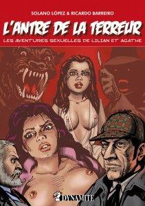 L'Antre de la Terreur - Solano Lopez & Ricardo Barreiro Bande dessinée érotique