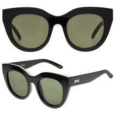 6e56745c0d6 Le Specs Air Heart Black Sunglasses - Meghan Markle s Accessories