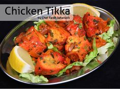 Chicken Tikka Recipe by Farah Jahanzeb Khan