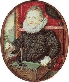 William Hawtrey by Nicholas Hilliard I love Hilliard's mini portraits