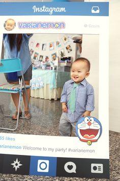 Doraemon Theme Instagram frame - photo booth prop