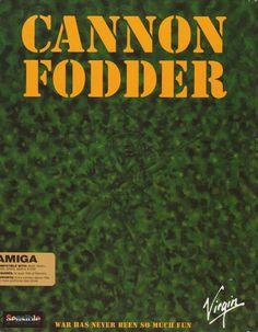 Cannon Fodder (Sensible Software, 1993)