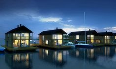 grand designs floating house on a lake - Google Search