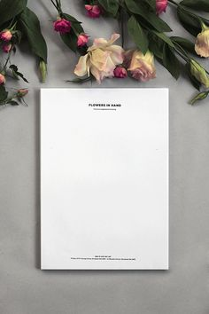 Flowers in Hand by Oh Babushka , via Behance
