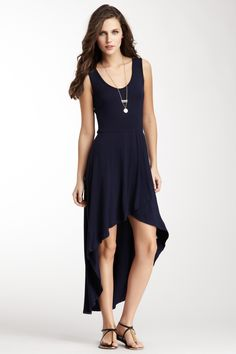 Choose this Hi-Lo Wrap Maxi Dress to wear to Meredith's wedding