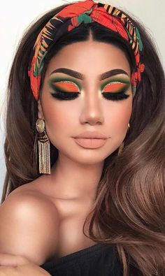 Newest and Colorful Eyeshadow Design Ideas and Images Part eyeshadow looks; eyeshadow looks step by step colorful Newest and Colorful Eyeshadow Design Ideas and Images Part 1 Makeup Eye Looks, Cute Makeup, Glam Makeup, Pretty Makeup, Eyeshadow Makeup, Makeup Art, Makeup Tips, Hair Makeup, Gorgeous Makeup