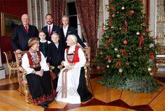 Norwegian royal family, Christmas 2014