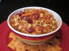 Top Secret Recipes | Olive Garden Pasta e Fagioli Copycat Recipe