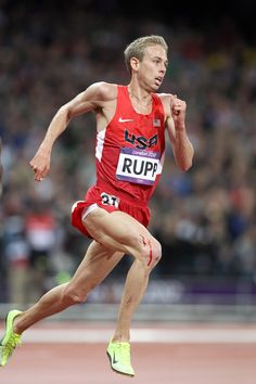 Galen Rupp running 10k in Olympics. First medal in a distance event for Americans in nearly 50 years.