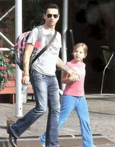 Dave and Stella-Rose Gahan