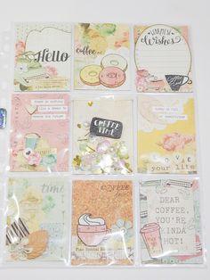 Coffee Break Pocket Letter Prima Marketing Coffee Break by Glitterartzy Crafts on Etsy