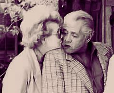 A rare pic of Lucy and Desi in their golden years.