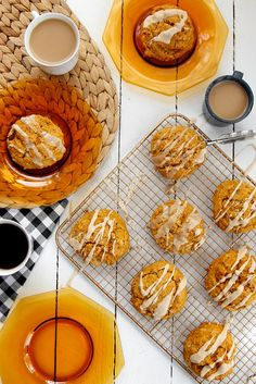 Pumpkin Pecan Scones with Brown Butter Glaze - Joy The Baker