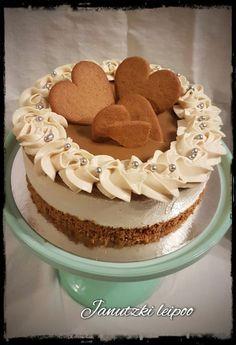 Piparirahkakakku - Janutzki Leipoo Vegan Cake, Vegan Desserts, Xmas Food, Occasion Cakes, Sweet Cakes, Vegan Baking, Cakes And More, Yummy Cakes, No Bake Cake