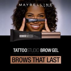Tattoo Studio Waterproof Eyebrow Gel creates fuller-looking definition that last for days. Fill and color your eyebrows with this ultra-resistant and waterproof eyebrow gel. The sculpting tip and eyebrow spoolie brush work together to create fuller-looking eyebrows that last for days. Smudge proof. Does not transfer.
