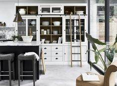 10 kitchen trends to try in 2020 – Which? News Modular Furniture, Furniture Design, Neptune Home, Sliding Cabinet Doors, Modular Cabinets, Freestanding Kitchen, Kitchen Images, Kitchen Ideas, Storage Design
