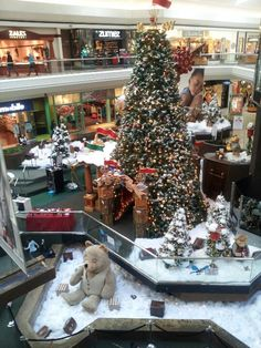 Christmas decors at the mall