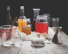 A Better Method: Cold-Process Infused Simple Syrups @ptacklind, I think we should try this with our fresh picked lemons for the rosemary lemonade drink, I bet the syrup and flavor would be so much better!!