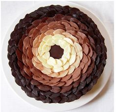 Andy Goldsworthy inspired cake!