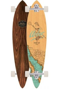 Arbor Fish Groundswell Series Longboard 2017 Complete