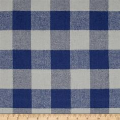 Kaufman Tahoe Flannel Plaids 7.2 Oz Double Brushed Med Buffalo Blue from @fabricdotcom  Designed for Robert Kaufman Fabrics, this soft double napped (brushed on both sides) medium weight (7.2 oz per square yard) flannel is perfect for shirts, loungewear and more! Features a yarn dyed plaid of blue and grey. Remember to allow extra yardage for pattern matching.