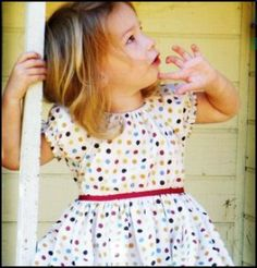 Miss Lily Dress - Sizes 6mths-4t | YouCanMakeThis.com