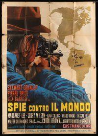 eMoviePoster.com: 2m069 LOT OF 6 FOLDED ITALIAN TWO-PANELS '60s-70s cool spaghetti western & military art!