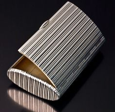 Carl Faberge Antique Russian Silver Cigarette Case, made in St Petersburg between 1908 and 1914