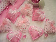 Sache Mini Coração Rosa