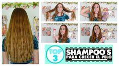 TOP 3 SHAMPOO'S PARA CRECER EL CABELLO #shampoo #haircare #longhair