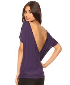 forever 21 - surplice back top