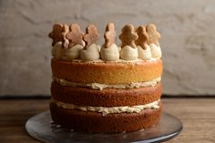 it's pretty close to the flavour of a traditional ginger cake but without the more dense texture.