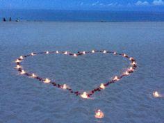Small Beach Weddings, Simple Beach Wedding, Romantic Beach, Purple Wedding, Beach Proposal, Romantic Proposal, Perfect Proposal, Wedding Proposals, Marriage Proposals