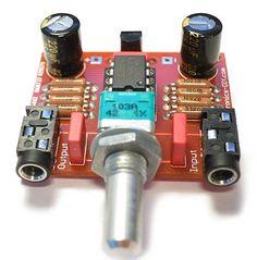 Audiophile Headphone Amplifier Kit - Electronics-DIY.com