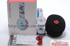 Beats Inspire Art - Futura SOLO HD Artist série zbrusu nový balíček headset sluchátka sluchátka Studio ON-Ear Noise Isolat_Headphones_Electr...