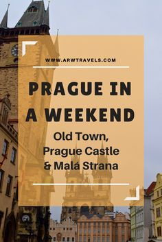 Prague is the perfect city for culture lovers. Its incredible Gothic and Bohemian Baroque architecture makes you travel back in time, making the Czech capital one of the most magical cities in Europe. If you're visiting Prague for a weekend, check out how to make the best out of your first day visiting the Old Town, Prague Castle and Malá Strana!