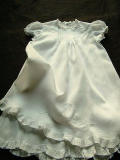 Vintage Feltman Brothers Christening Gown and Slip, Ready to Wear, Beautiful
