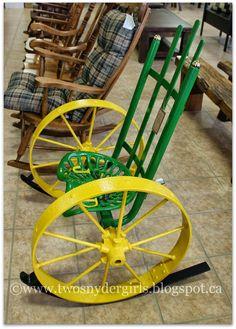 John Deer Chair