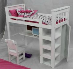 1000 Images About Ag 18 Inch Doll House Furniture Decor On Pinterest Doll Bedding
