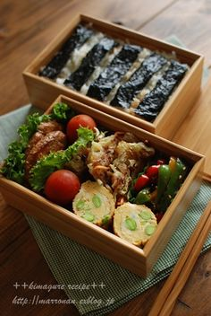 ◇MENU◇ 豚肉のマヨ照り焼き 枝豆入り出汁巻き玉子 野菜入りじゃがいものおやき ピーマンのきんぴら 海苔弁 今週はお弁当不要の日が... Japanese Lunch, Japanese Food, Bento Box Lunch, Cook At Home, Food And Drink, Yummy Food, Stuffed Peppers, Lunches, Cooking