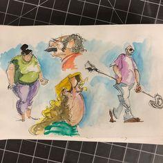 "Richard Powell on Instagram: ""#draw #drawing #drawings #sketches #sketchbook #figure #figuredrawing #gesturedrawing #people #faces #funnyfaces #caricature #cartoon…"" Gesture Drawing, Drawing S, Sketches, Figure Drawing, Instagram, People, Painting, Art, Drawing Poses"