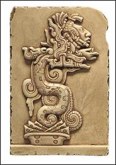 Kukulkan serpiente emplumada de los Mayas