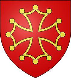 Blason Languedoc - Croix occitane — Wikipédia