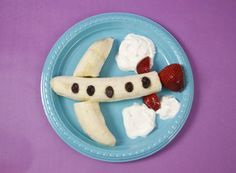 Let snacktime soar with this Banana Plane!