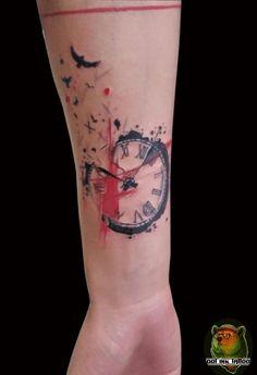 Trash polka style Mais (Minutes Tattoo)
