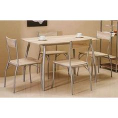 WIP MODUS set 1+4 - Natex Nabytok Table, Furniture, Home Decor, Decoration Home, Room Decor, Tables, Home Furnishings, Home Interior Design, Desk