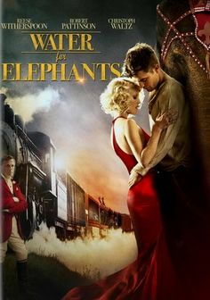 Water for Elephants (2011) In this captivating Depression-era melodrama, impetuous veterinary student Jacob Jankowski joins a celebrated circus as an animal caretaker but faces a wrenching dilemma when he's transfixed by angelic married performer Marlena.