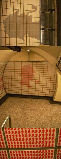 london underground/ Sherlock Holmes